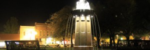 monmouth-fountain-night