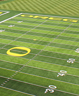 UO Football Fields