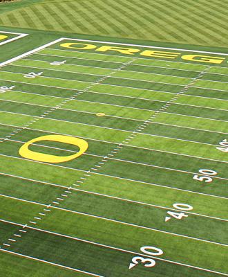 UO Football Fields